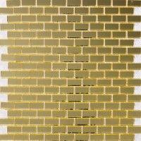 Gold metallic tile