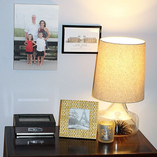 Nightstand Decor with Canvas Champ and a GIVEAWAY!