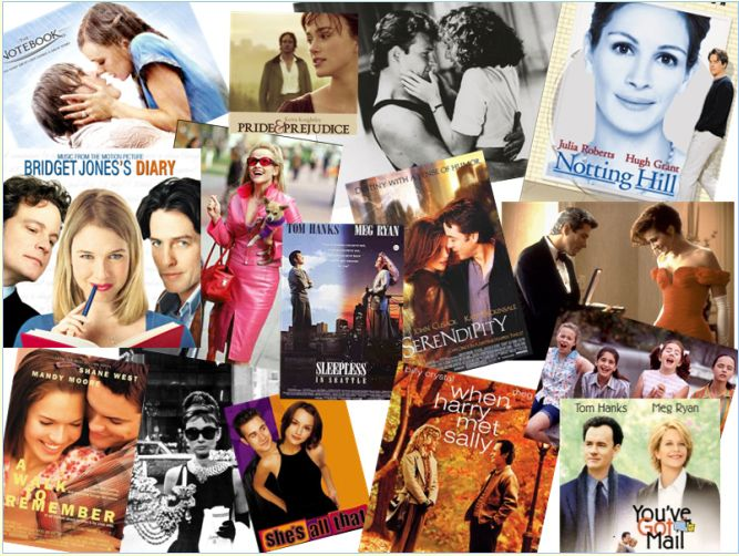 a collection of chick flicks...