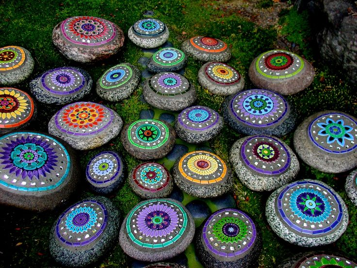 garden craft ideas. firehouse tileworks by clare dohna \u2022 mosaic stones garden craft ideas f