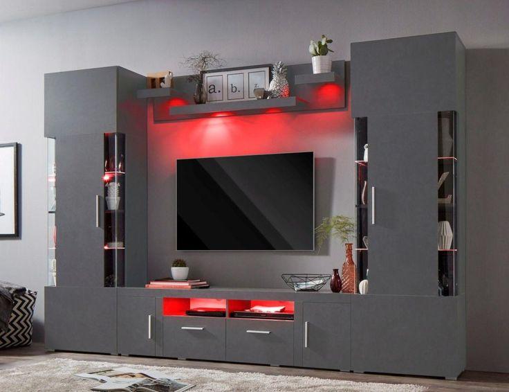 Wohnzimmer tv ~ Die besten mediawand ideen auf tv wand aus