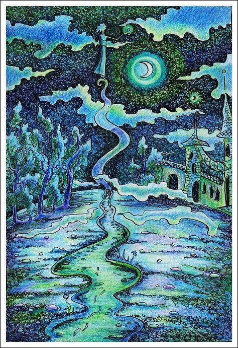 «Город в горах. Уходящая в небо. Теххи» (с) Инна Майзель  http://vk.com/club46200701