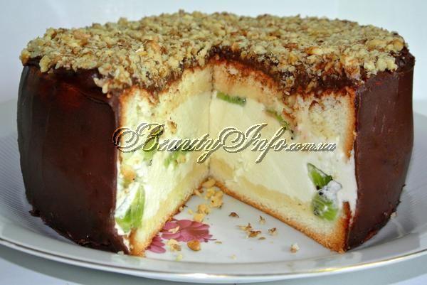 Рецепт торт из суфле пошагово