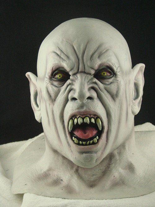 Blood Feast Latex Halloween Mask #metalhead_threads #halloweenmask #vampiremask #latexmask