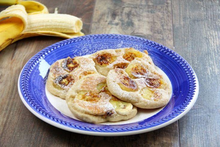 Kuchnia w wersji light: Bezglutenowe i wegańskie racuchy z bananami