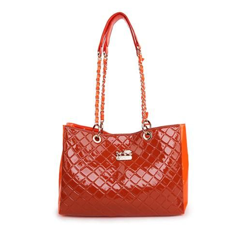 Price: $358.00   now  $64.99 Coach Rhombic Medium Orange Shoulder Bags BCL Give You The Best feeling!
