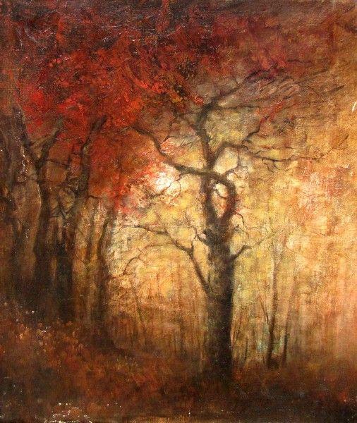 Mednyánszky, László (1852-1919) Autumn forest
