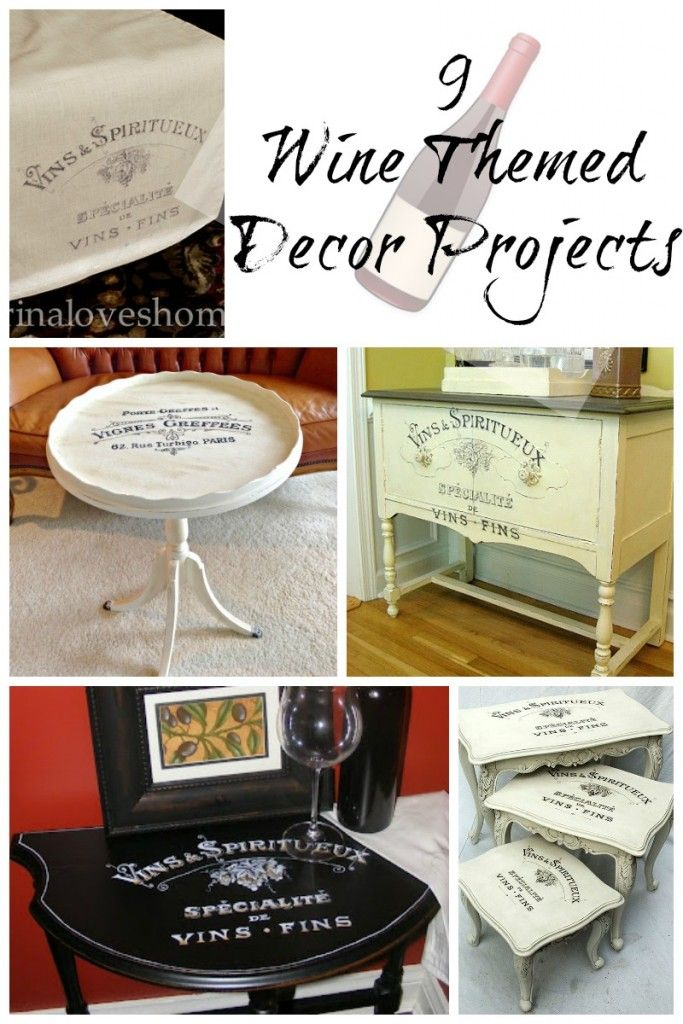 9 Wine Themed Decor Projects
