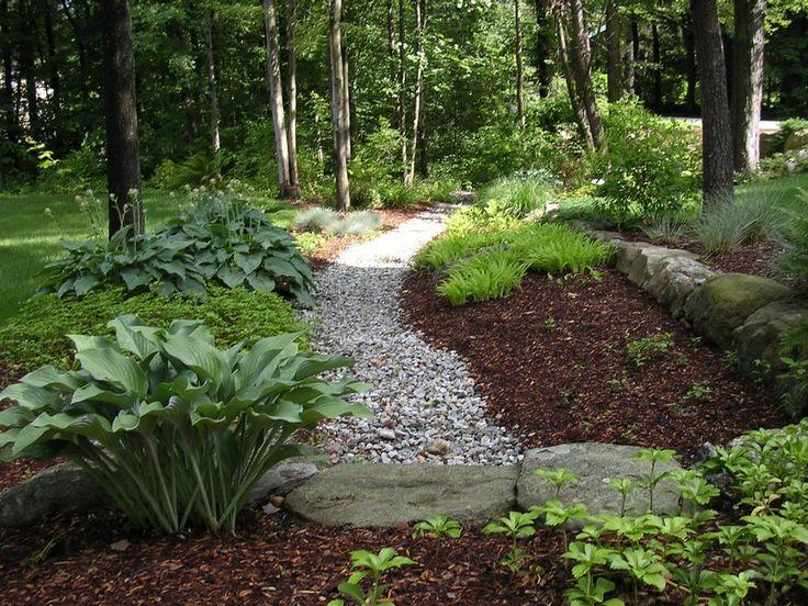 Shade garden ideas under trees shade tree landscaping for Garden design under gum trees