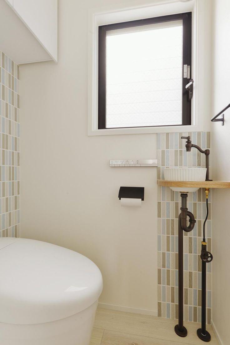 あきめないで!トイレに洗面スペースをつくって快適生活を実現しよう ... リフォーム・リノベーション会社:スタイル工房「F邸・家族の笑顔が生まれる