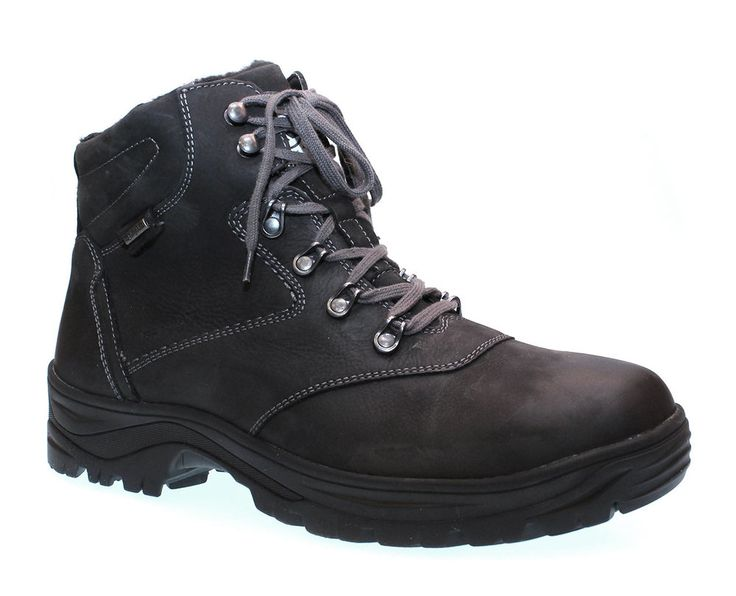 Another boot with retractible ice spikes hidden in the lug sole. Perfect for Canadian winters!