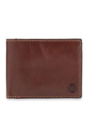 Jack Mason  Ohio State Hangtime Slim Bifold Wallet