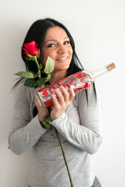 love you valentine message in a bottle