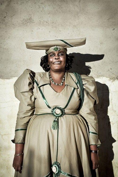 From a series of portraits of Herero Women in Namibia. Photo by Meeri Koutaniemi (http://www.meeri.fi/)