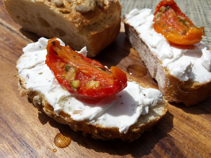 Homemade goat's cheese flavoured with herbs de provence using our Goat's Cheese Making Kit. Delicious.