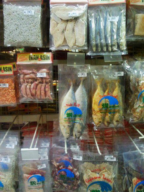 Dry Fish, Bandung Indonesia