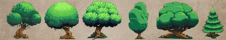 by DerekLaufman  http://dereklaufman.deviantart.com/art/Tree-Concepts-271825838?q=gallery%3Adereklaufman%2F4761563=33