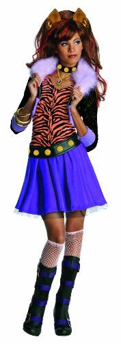 Monster High Clawdeen Wolf Costume – One Color – Large Best Reviews