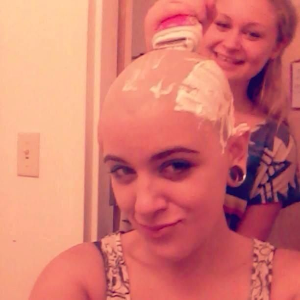 how to keep a clean shaven head