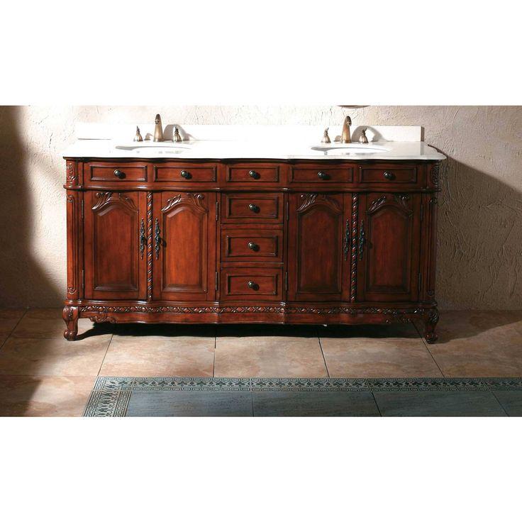 Bathroom Double Vanity 191 best antique bathroom vanities images on pinterest | antique