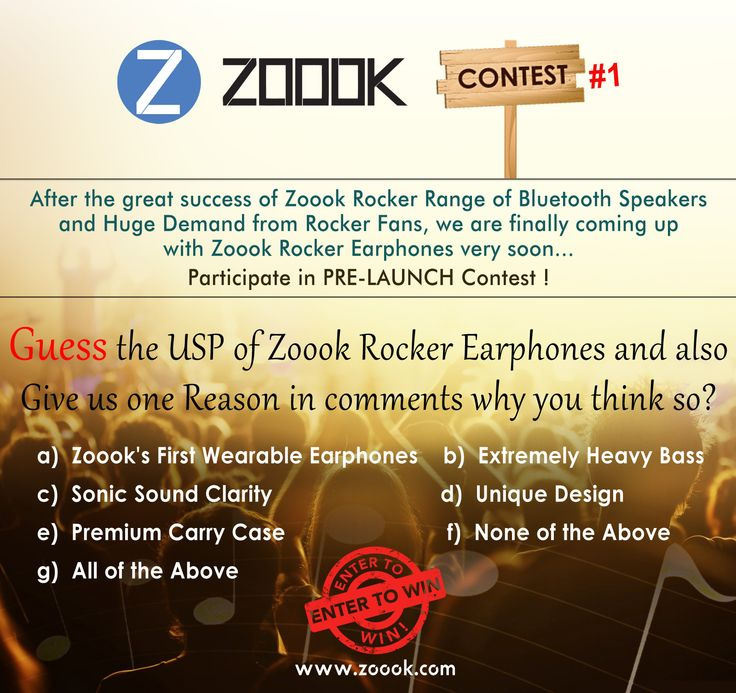 "https://gleam.io/2lgQs/zoook-rocker-earphone-giveaway-contest-1""  1 Contest - 10 Winners Rocker Series Earphone   Pre- Launch Contest Campaign"