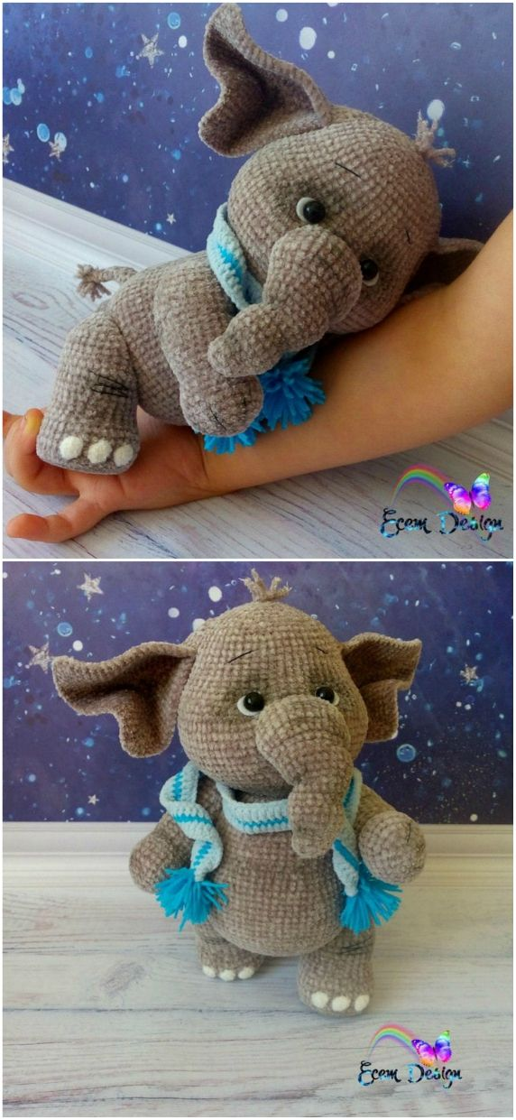 Crochet Elephants – Lots Of Fabulous FREE PATTERNS