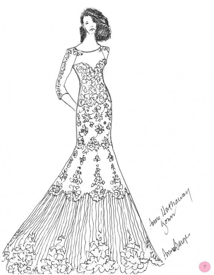 Vote for Anne Hathaway's Wedding Dress!