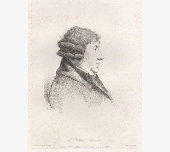 william chambers portrait engraving Dance Daniell
