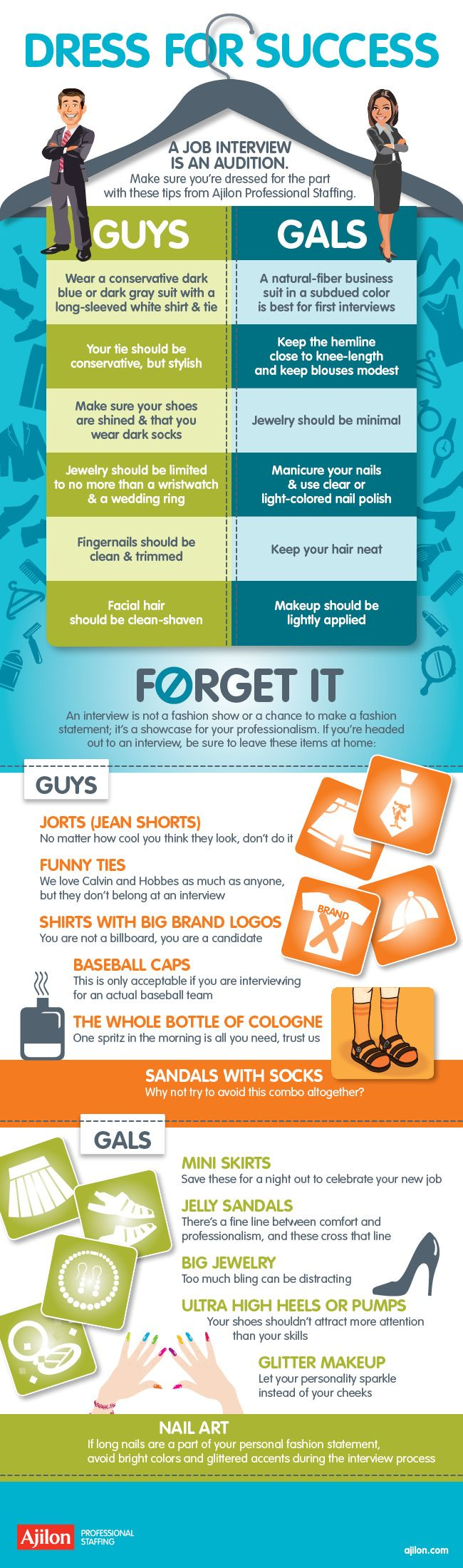 Dress for Success #Infographic #Career #Dressing
