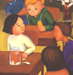 Namejar image3.jpg The Name Jar - Teaching Children Philosophy Website has many books as starting points and suggestions for philosophical questions.