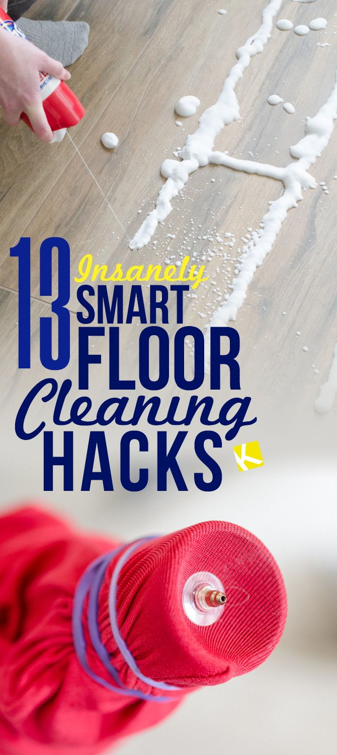 11 Floor Cleaning Hacks That Will Make Your Life Easier