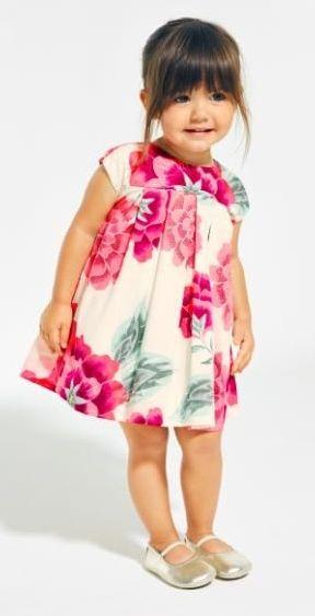 Cassie Sateen Baby Dress