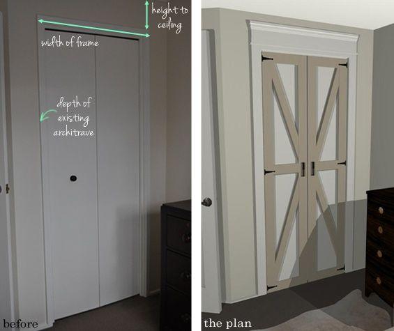 Переделка дверей (2Diy) / Мебель / ВТОРАЯ УЛИЦА