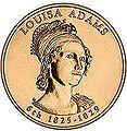 First Lady Louisa Catherine Johnson Adams, WIKI, wife of 6th President John Quincy Adams