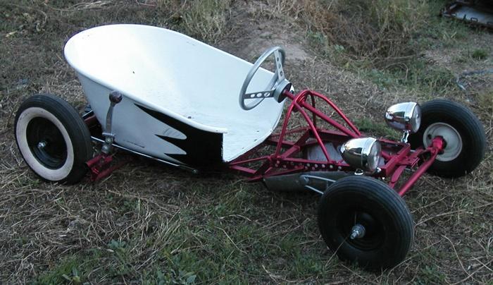 wheelbarrow soapbox hot rod