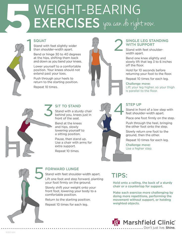 Step Exercise Side Seniors Side