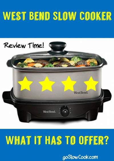 West Bend Slow Cooker Review, It is a good buy? #slowcooker #crockpot #gifts #cook #chef #food