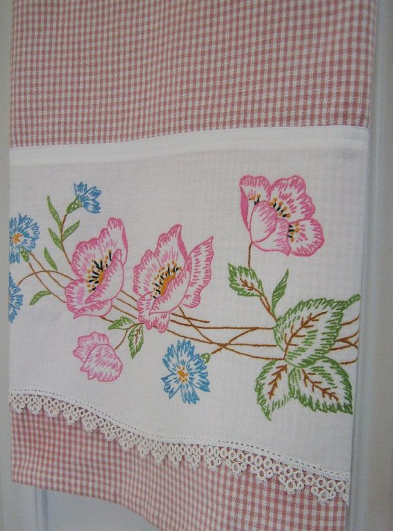 Recycled Vintage Pillowcase to Upcycled Tea by TwoGirlsLaughing, $22.00