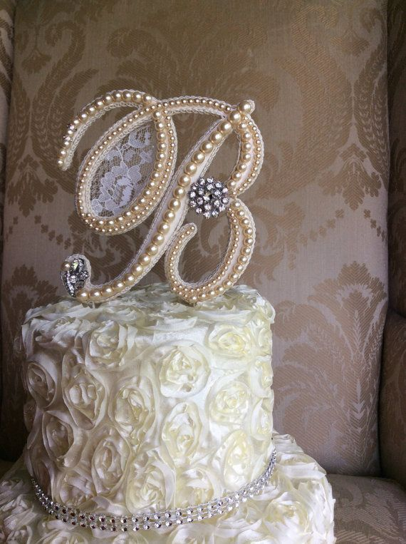 Hey, I found this really awesome Etsy listing at https://www.etsy.com/listing/189374703/custom-monogram-wedding-cake-toppers