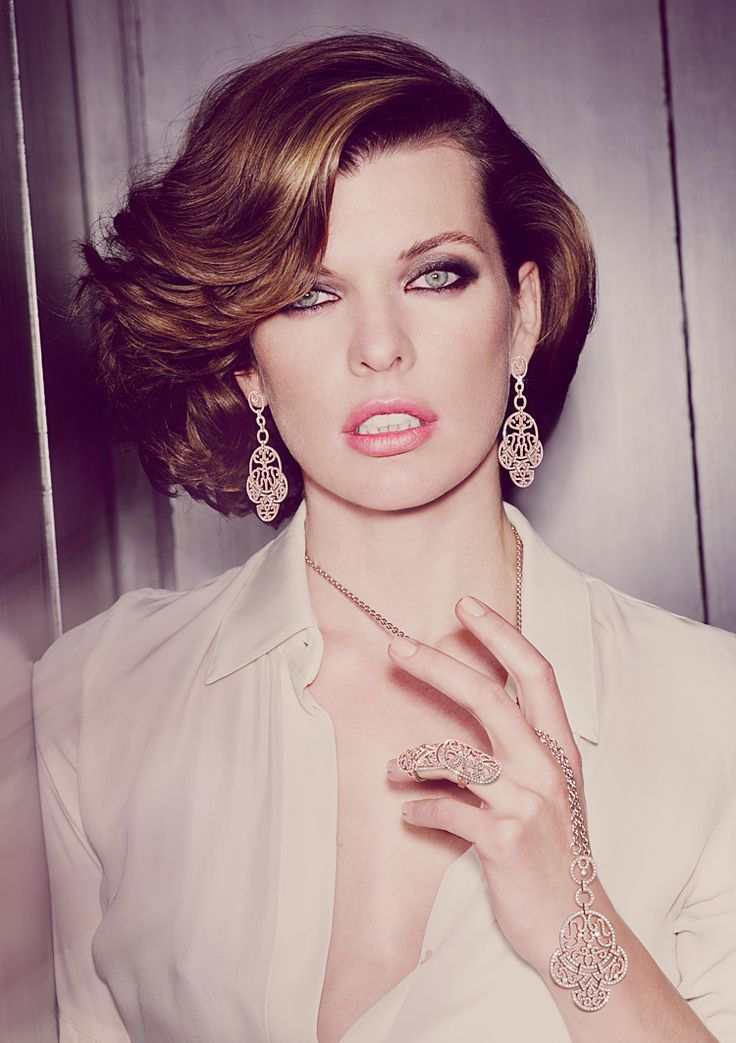 Jacob & Co., Fall 2011 campaign (+) Milla Jovovich