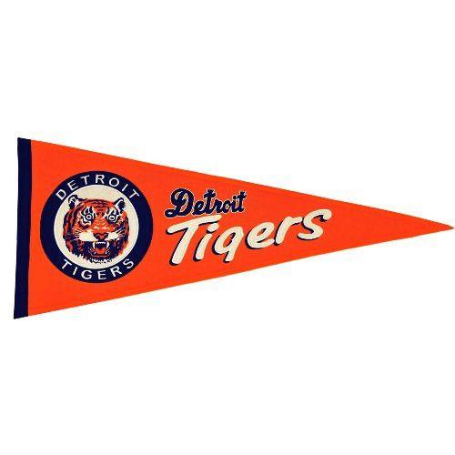 Detriot Tigers Cooperstown Pennant