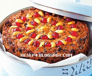 Resep Kue Natal Country Christmas Cake