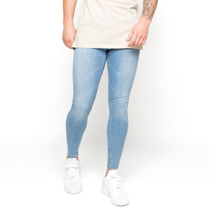 Super-skinny-spray-on-jeans-light-blue-non-ripped