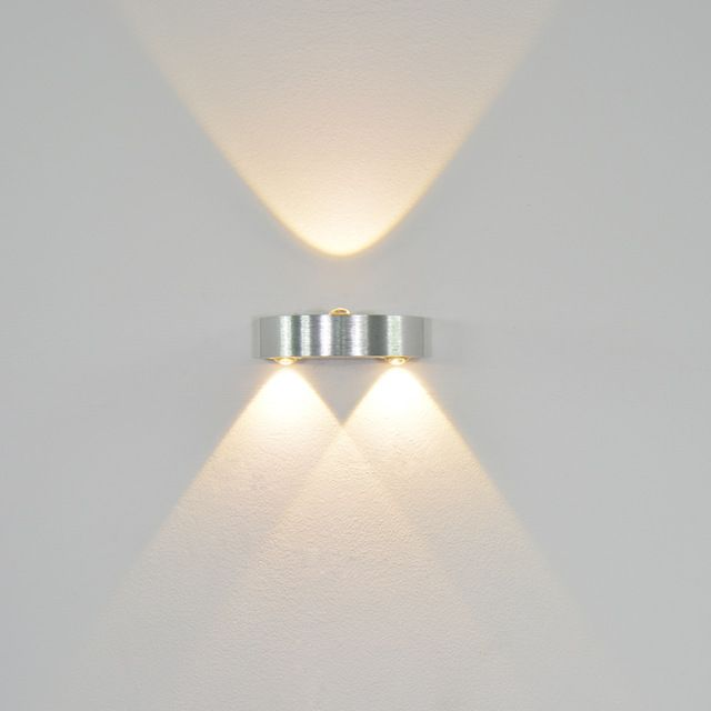 Yooe Indoor Led Wall Lamps 3w Modern Up Down Wall Sconce Lighting