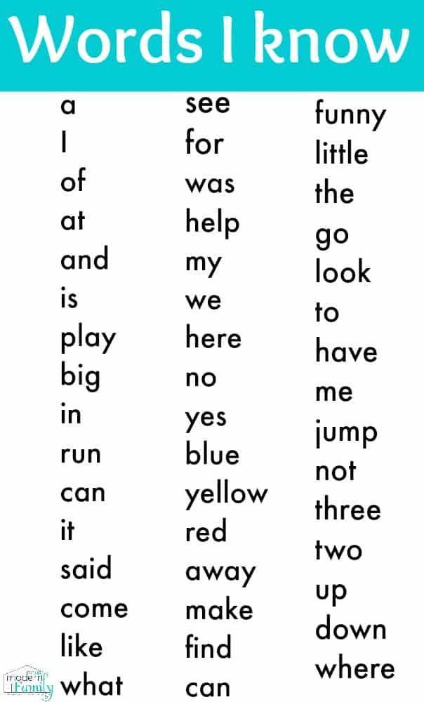 5 Skills To Teach Before Kindergarten Kindergarten Worksheets Sight Words Sight Words Kindergarten Teaching Sight Words Kindergarten sight words worksheets pdf