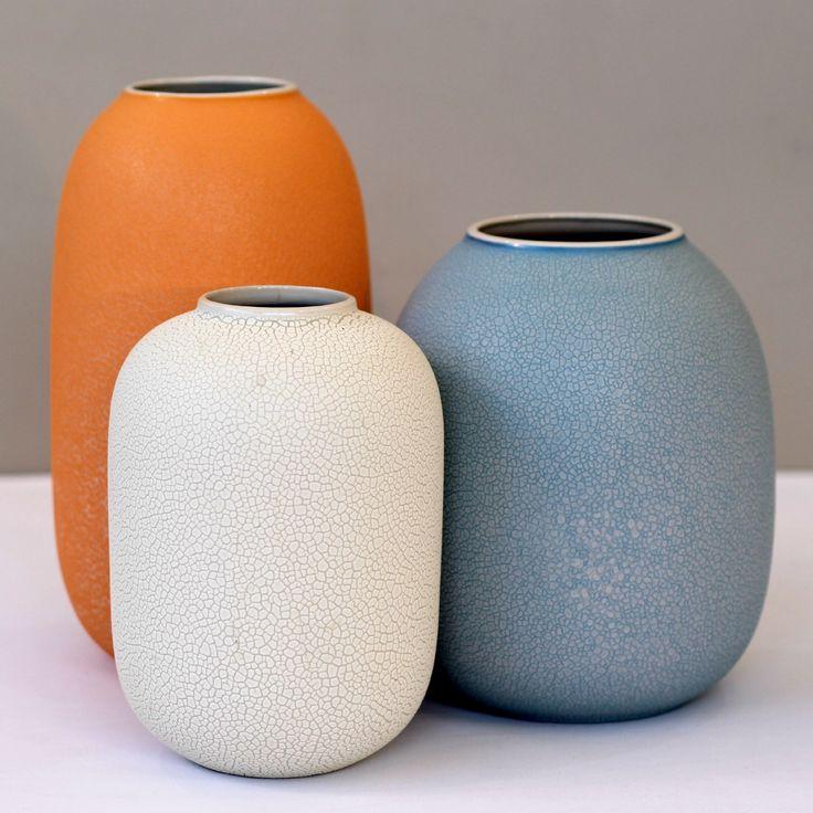 Eggshell Vase - White