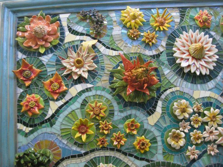 Ceramic/Mosaic Mural detail