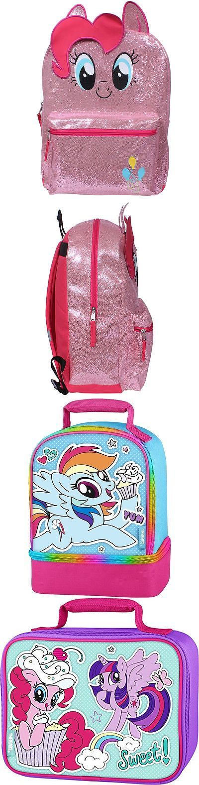 Backpacks 57917: My Little Pony Pinkie Pie 16 Full-Size Backpack W Optional Insulated Lunch Box -> BUY IT NOW ONLY: $32.98 on eBay!