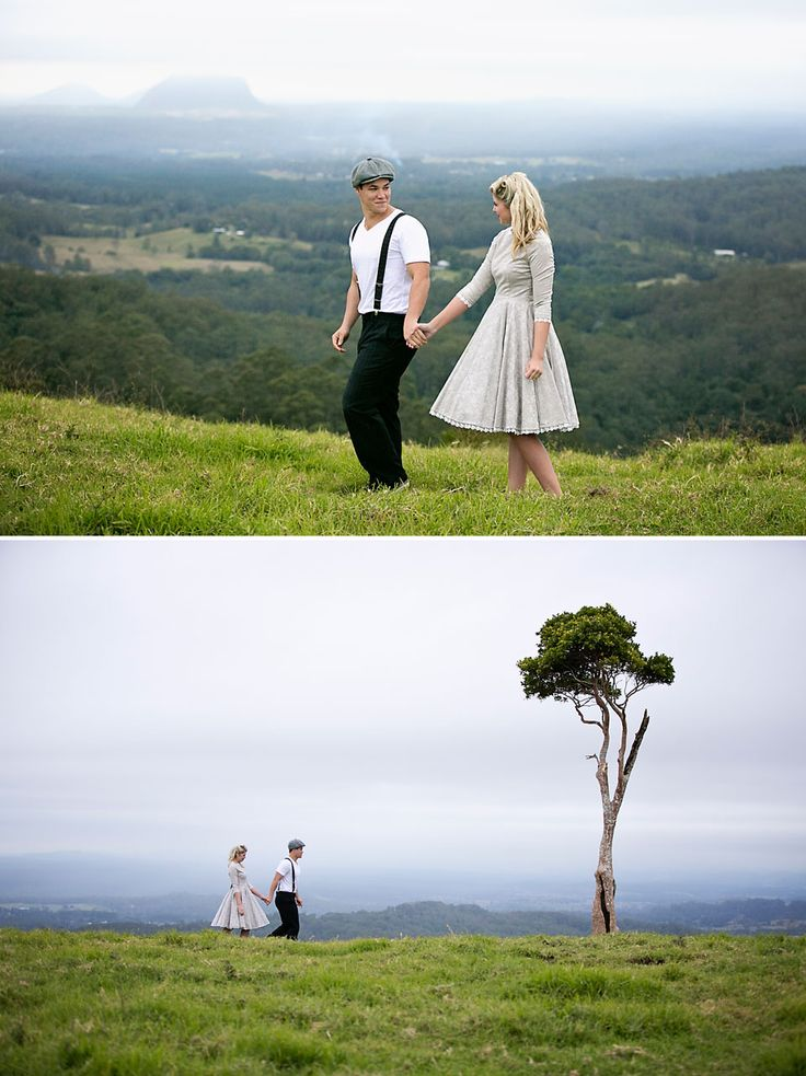 Vintage wedding, Sunshine Coast wedding photographer, Maleny weddings, hinterland wedding, Adriana Watson Photography.