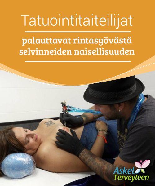 """Tatuointitaiteilijat palauttavat rintasyövästä selvinneiden naisellisuuden   Liikkeet kuten """"#Tatuointitaiteilijat #rintasyöpäpotilaiden puolesta"""" tarjoavat syövästä selvinneille naisille mahdollisuuden palauttaa #naisellisuutensa.  #Mielenkiintoistatietoa"""